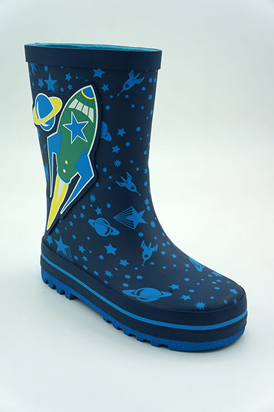 Banner Kids Waterproof Rubber Boots and Clogs-1801MH010