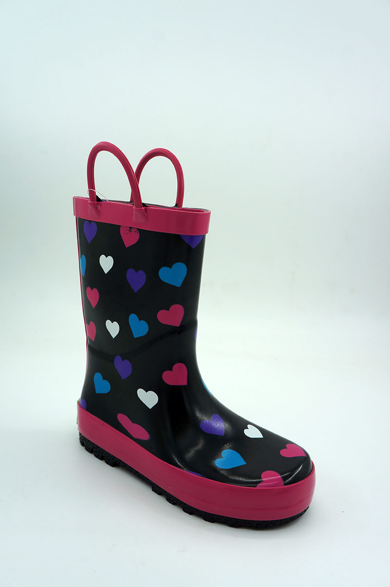 Banner Kids Waterproof Rubber Boots and Clogs-1805MH011