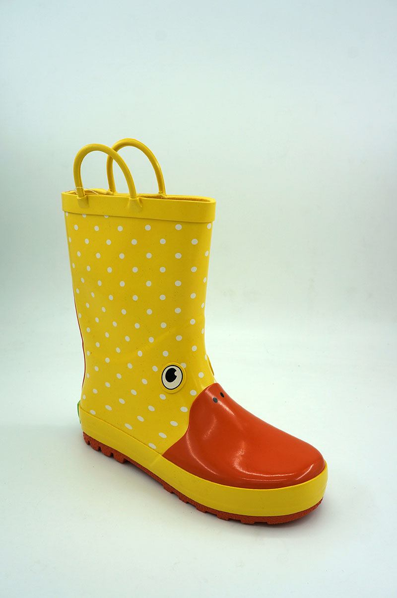 Banner Kids Waterproof Rubber Boots and Clogs-1805MH012