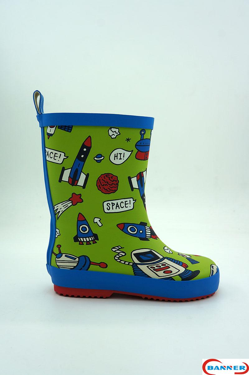 Banner Kids Waterproof Rubber Boots and Clogs-18BA1001