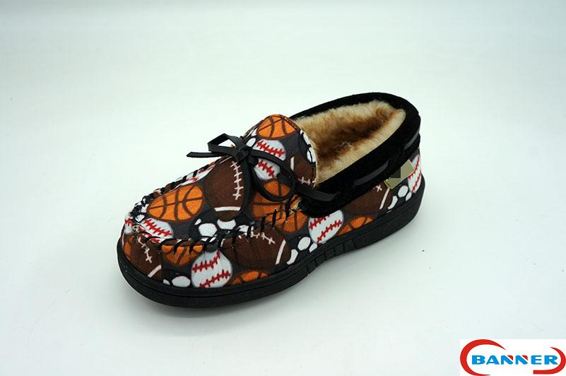 Banner Kids Moccasin Slippers-20BN8072