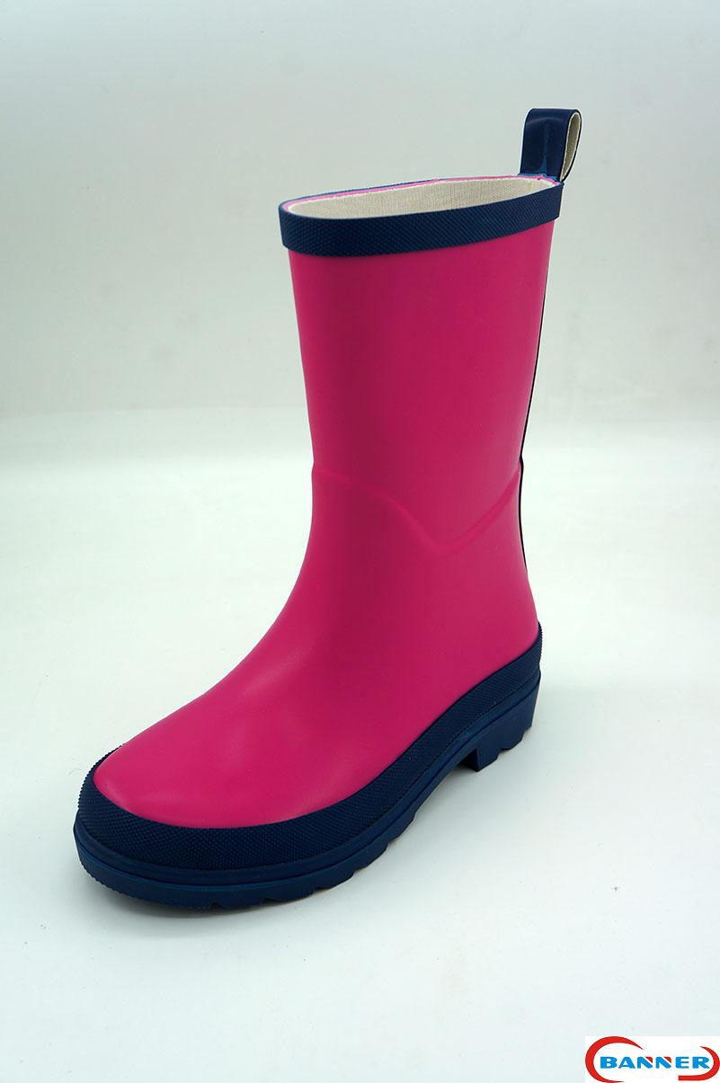 Banner Kids Waterproof Rubber Boots and Clogs-20BN8085