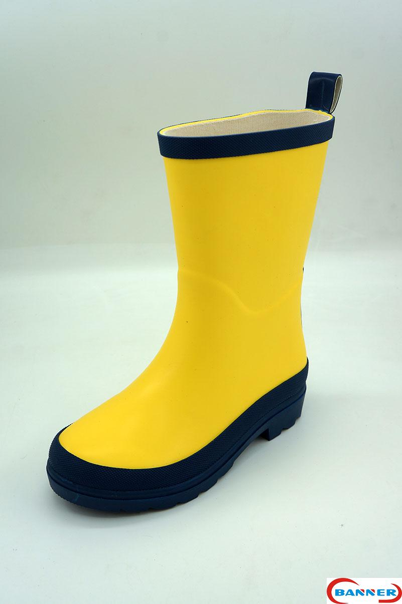 Banner Kids Waterproof Rubber Boots and Clogs-20BN8086